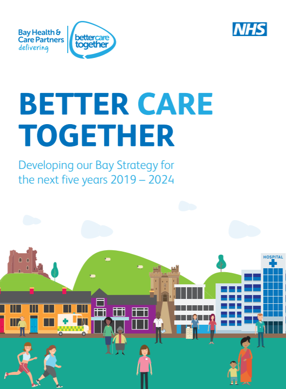 Image from front cover of Better Care Together Strategy document